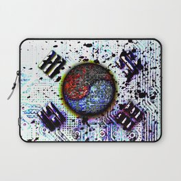 in to the sky, circuit board (south korea) Laptop Sleeve