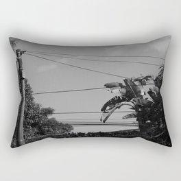 Telephone Wire/Palms (El Salvador) Rectangular Pillow