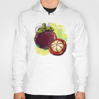 vietnam Hoodies featuring Vietnam Mangosteen by Vietnam T-shirt Project