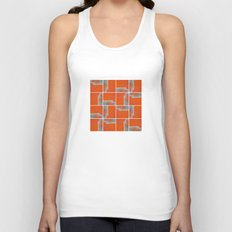 Wall Pattern Unisex Tank Top