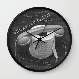 Unwanted Calls Wall Clock