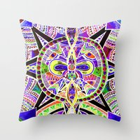 """lee pace Throw Pillows featuring """"pace"""" by Rachna Radar"""