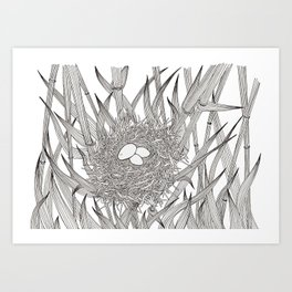 A Cuckoo in the Nest Art Print