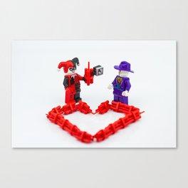 Valentines Canvas Print
