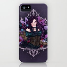 Lilacs and Gooseberries iPhone Case