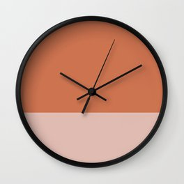 SANDSTONE x ROSE Wall Clock