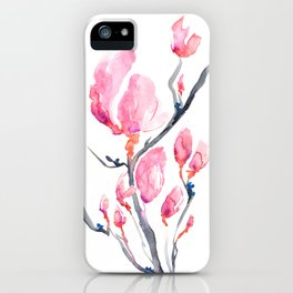 Japanese Magnolia iPhone Case