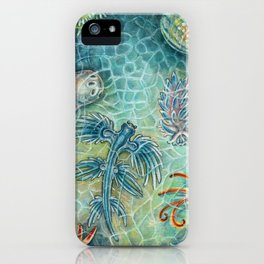 The Blue Dragon iPhone Case