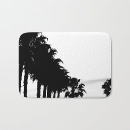 Palm tree Line up! Bath Mat