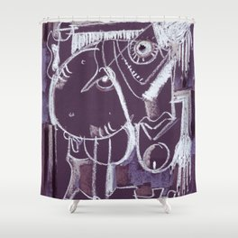 On Your Knees Shower Curtain