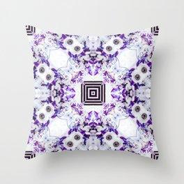 Anemone Fusion Throw Pillow
