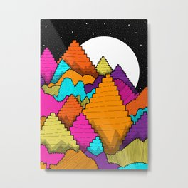 Peaks of the forest Metal Print