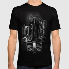 V. The Hierophant Tarot Card Illustration  T-shirt
