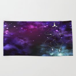 the avatar state Beach Towel