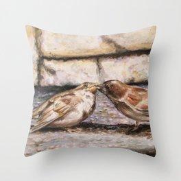 Nurturing In Nature Throw Pillow
