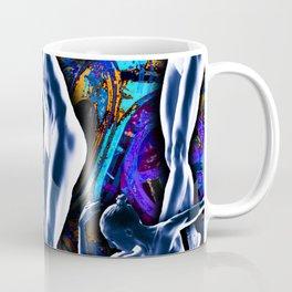 Woman In The Machine Frieze Color 3 Coffee Mug