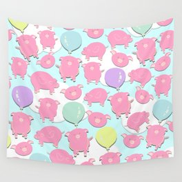 Little Piglets Wall Tapestry