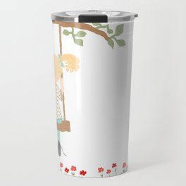 On the Swing, In the Tree Travel Mug