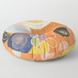 Hilma af Klint - The Ten Largest, Youth Floor Pillow