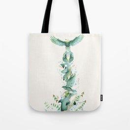 Imagine a Totem Tote Bag