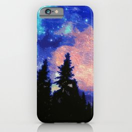 The Galaxy Above Us iPhone Case