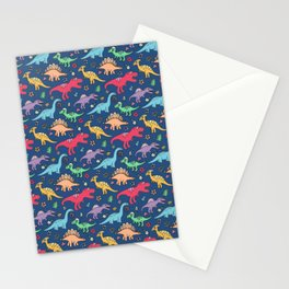 Cute Dinosaurs Stationery Cards