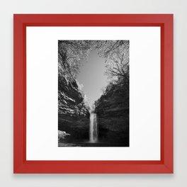 Cedar Falls Framed Art Print