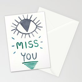 Eye Miss You Stationery Cards