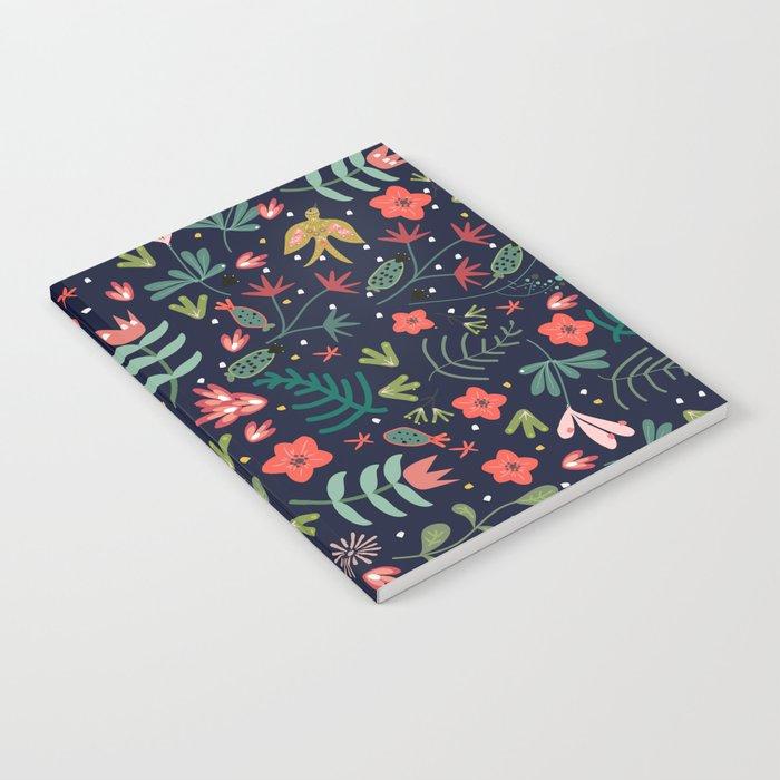 Flying Around in the Garden Notebook