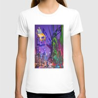 grafitti T-shirts featuring New York Collage by Bakmann Art