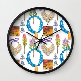 Wild Africa #5 Wall Clock