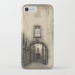 Melk Abbey Corridor iPhone Case