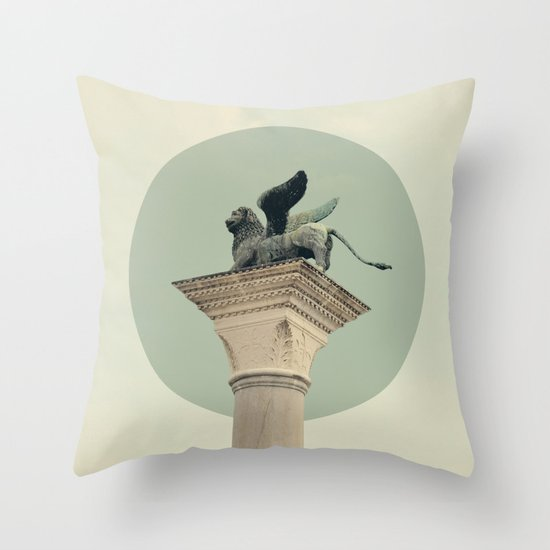 Monumental Throw Pillow