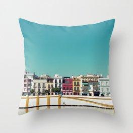 Triana, the beautiful Throw Pillow