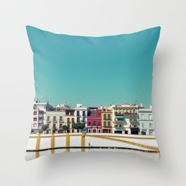 Triana, the beautiful Throw Pillow