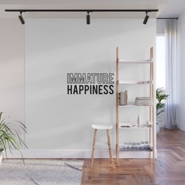 Immature happiness Wall Mural