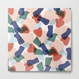 Sofia pattern Metal Print