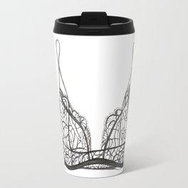 Black bralette Travel Mug