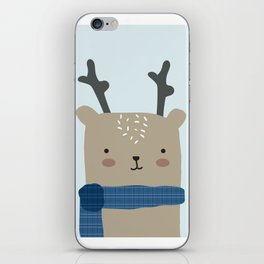 Reindeer in the Winter iPhone Skin