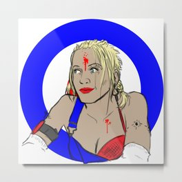 Our Lady of Sex and Violence Metal Print