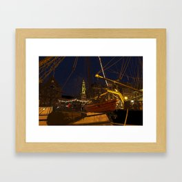 December Atmosphere Framed Art Print