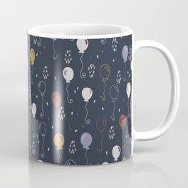 Elegant Party Balloons Vector Pattern Coffee Mug