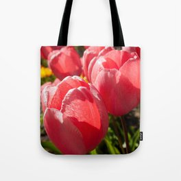 Pink Tulip Photography Print Tote Bag