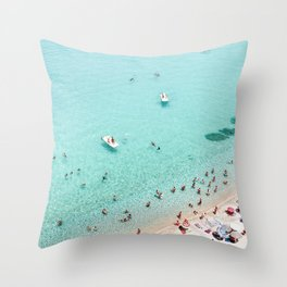 Beach Day Throw Pillow
