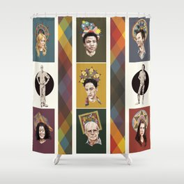The Saints of Greendale Shower Curtain
