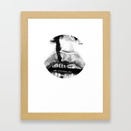 flood variation Framed Art Print