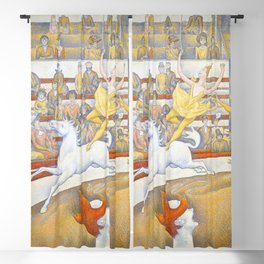 "Georges Seurat ""The Circus"" Blackout Curtain"