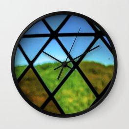Lozenge Flou Wall Clock