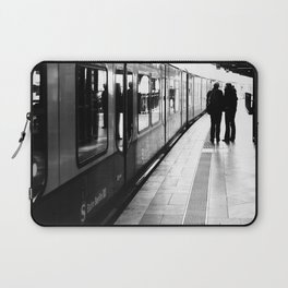 S-Bahn Berlin black and white photo Laptop Sleeve