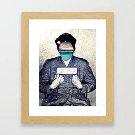 Insurgent Rosa Framed Art Print